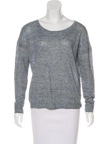 Rag & Bone Linen Knit Sweater None