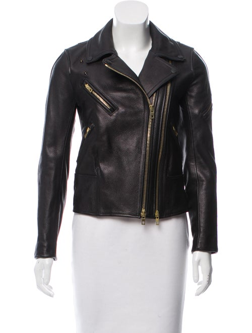 Rag & Bone Minerva Leather Jacket - Clothing - WRAGB95599 | The RealReal