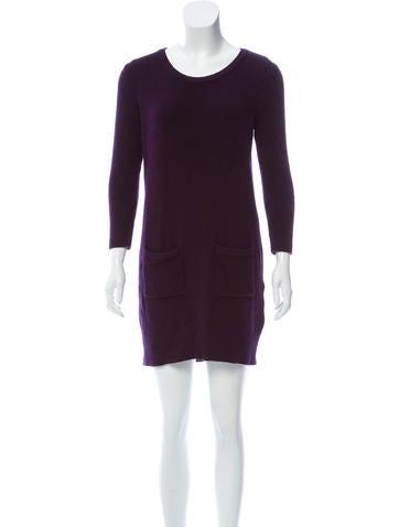 Rag & Bone Merino Wool Long Sleeve Dress None