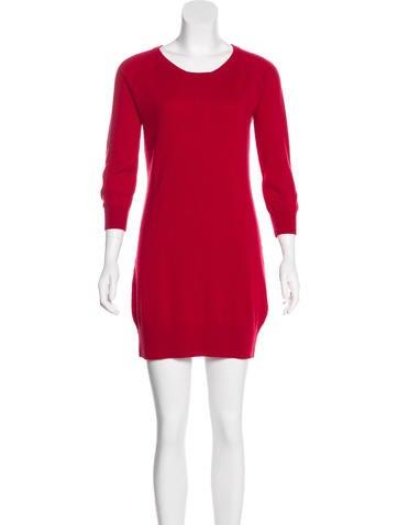 Rag & Bone Cashmere Mini Dress None