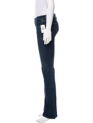 Low-Rise Straight-Leg Jeans w/ Tags