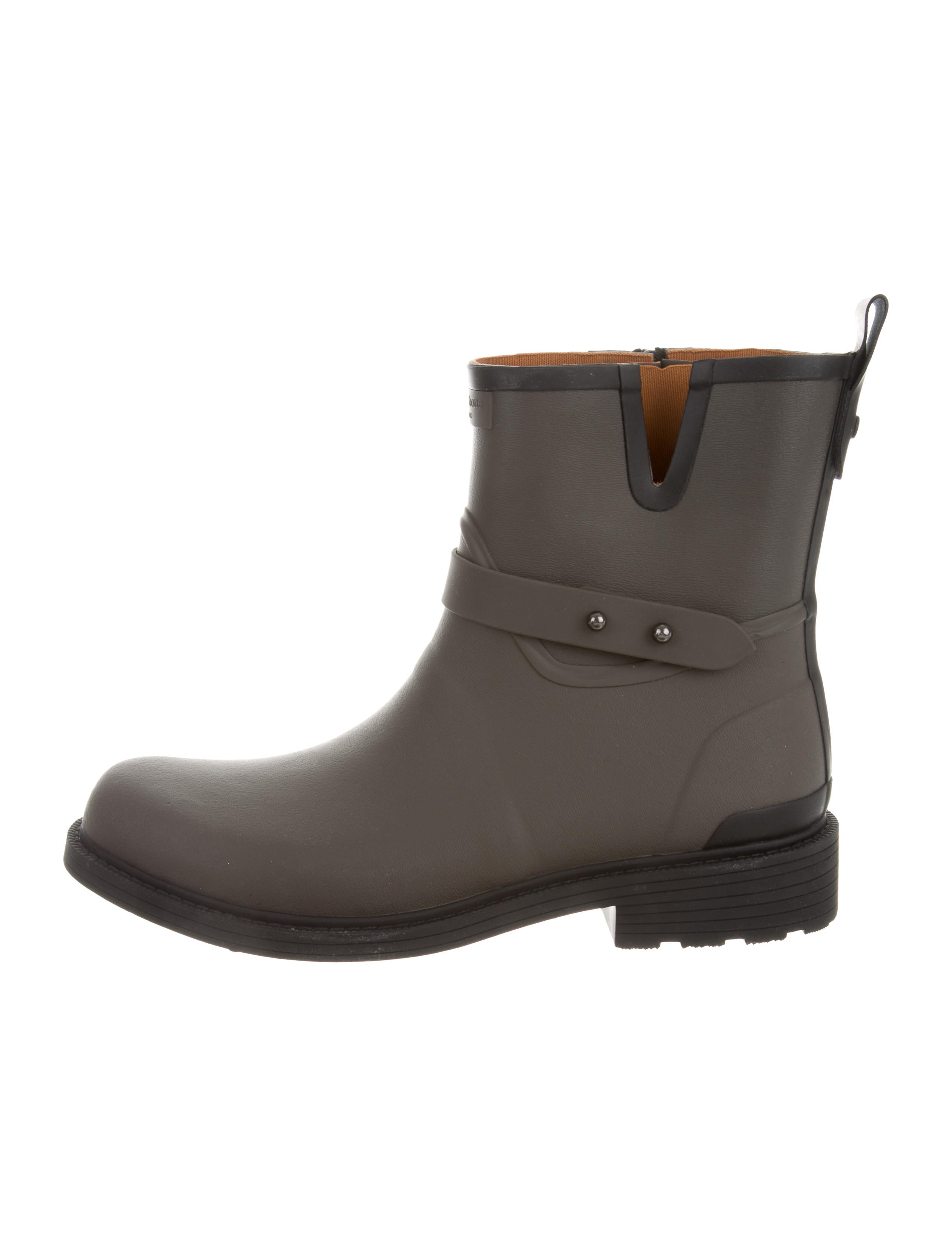 Rag & Bone Logo-Accented Rain Boots discount 100% guaranteed clearance outlet cheap with paypal cheap sale pick a best mhr0KVA