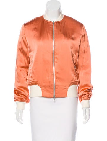 Rag & Bone Morton Satin Bomber None