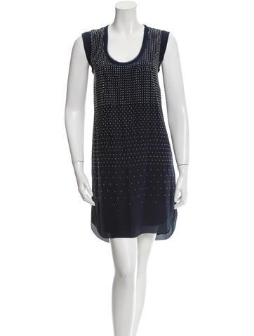 Rebecca Taylor Studded Silk Dress w/ Tags