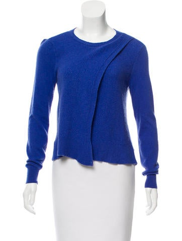 Rebecca Taylor Textured Wool-Blend Sweater None