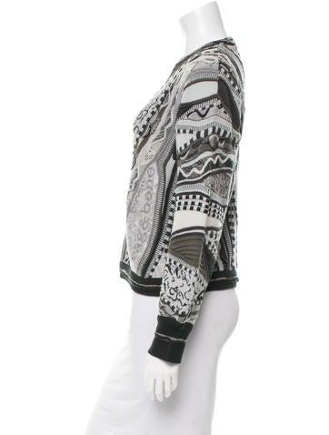 Wool Patterned Sweater