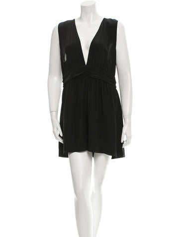 Rory Beca Sleeveless Silk Romper w/ Tags