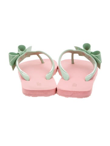 Bow Embellished Thong Sandals