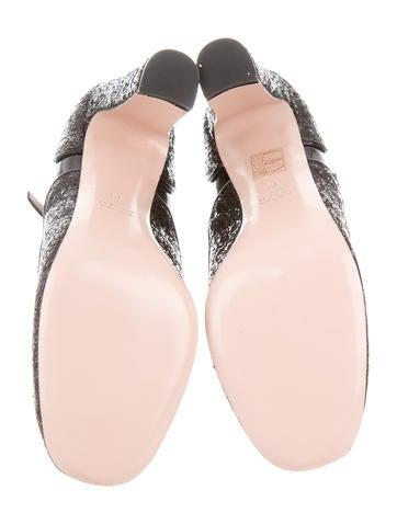 Glitter Mary Jane Pumps