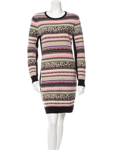 Red Valentino Wool & Cashmere-Blend Dress None