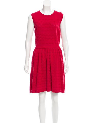 Red Valentino Knee-Length Knit Dress None