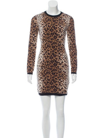 Red Valentino Leopard Pattern Dress w/ Tags None