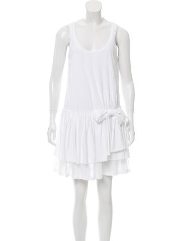 Red Valentino Bow-Accented Mini Dress w/ Tags None