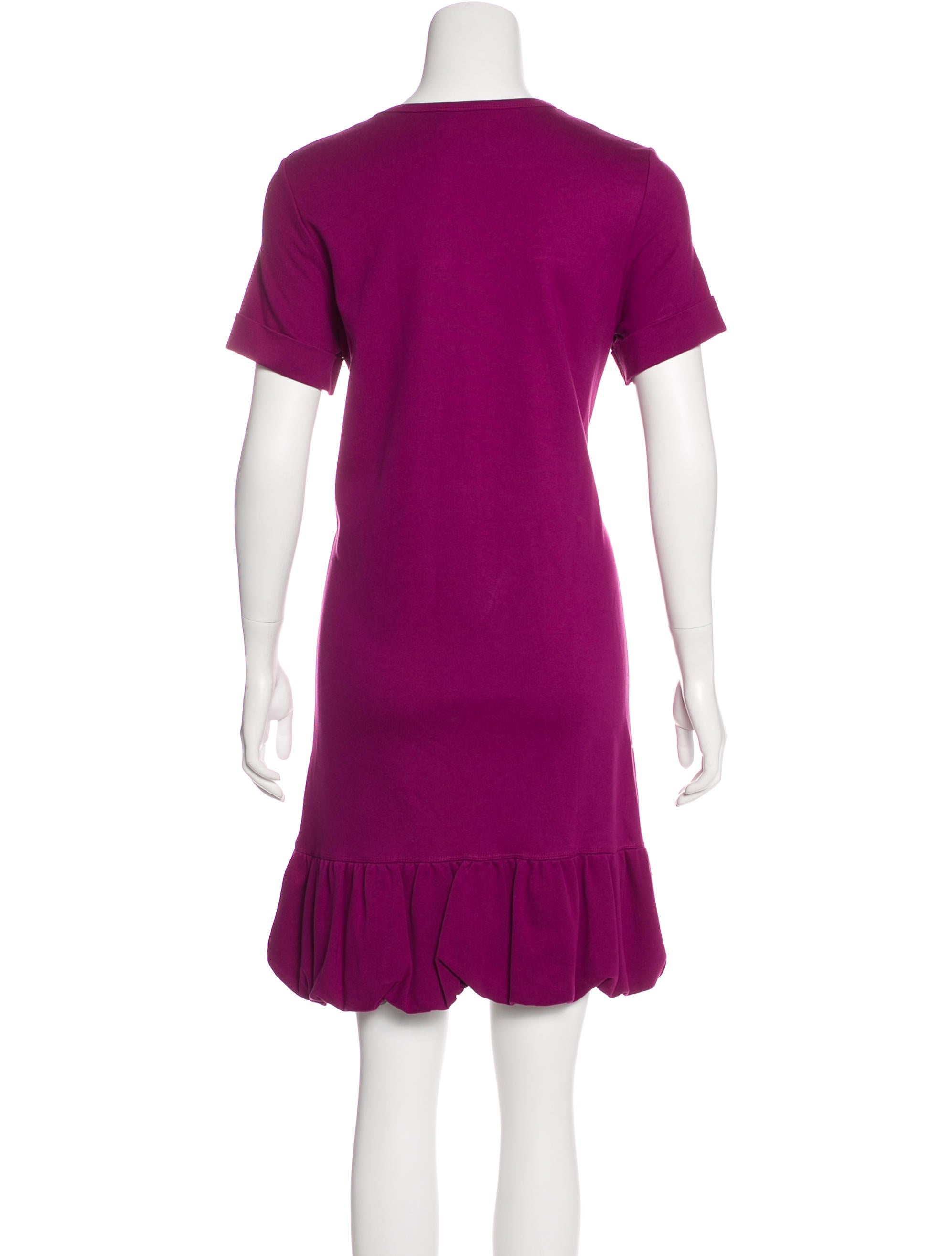 red valentino kneelength shift dress clothing