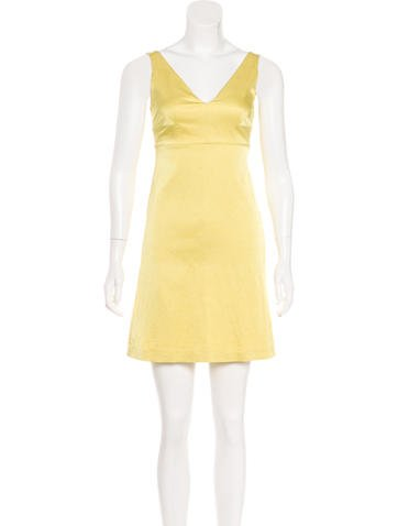 Red Valentino Sleeveless A-Line Dress None