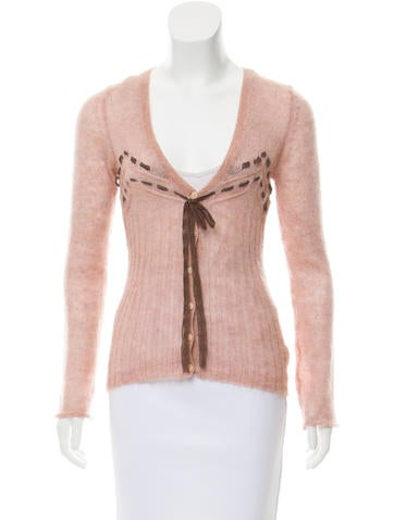 Red Valentino Mohair Knit Top None
