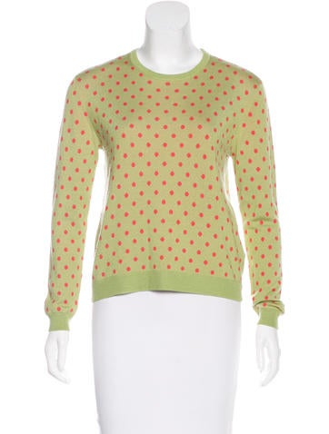 Red Valentino Wool & Silk-Blend Sweater None