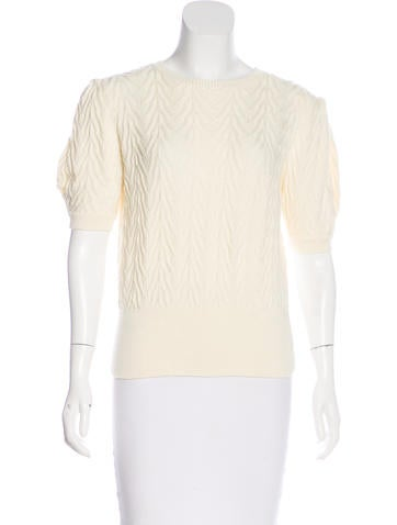 Red Valentino Wool Knit Sweater None