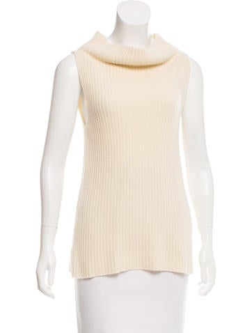 Red Valentino Wool Rib Knit Sweater None