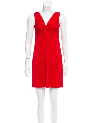 Red Valentino Sleeveless Mini Dress None