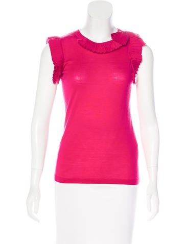 Red Valentino Knit Wool Top None