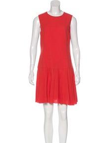 1d38ca421 Red Valentino. Virgin Wool Mini Dress