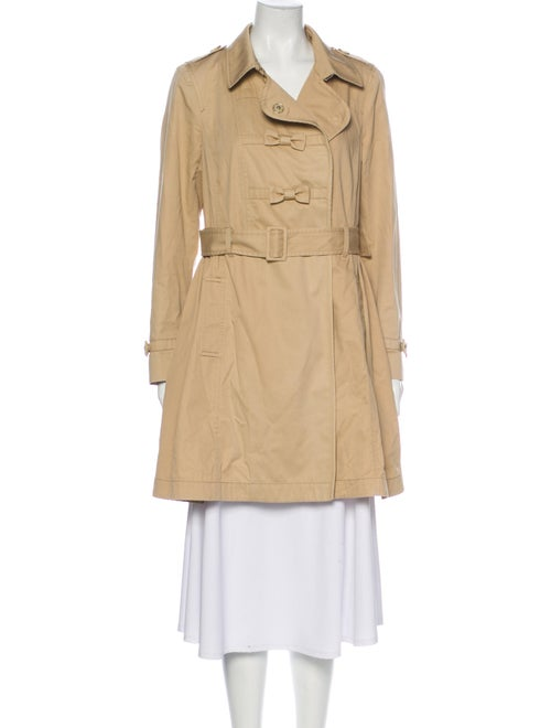 Red Valentino Trench Coat Red