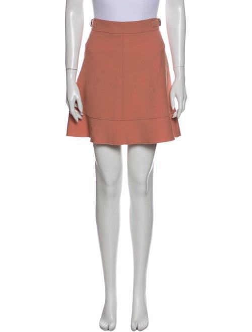 Red Valentino Mini Skirt Red