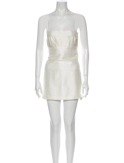 Réalisation Par Silk Mini Dress w/ Tags White