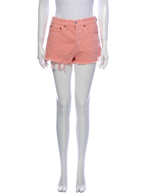 Re/done Mini Shorts Pink