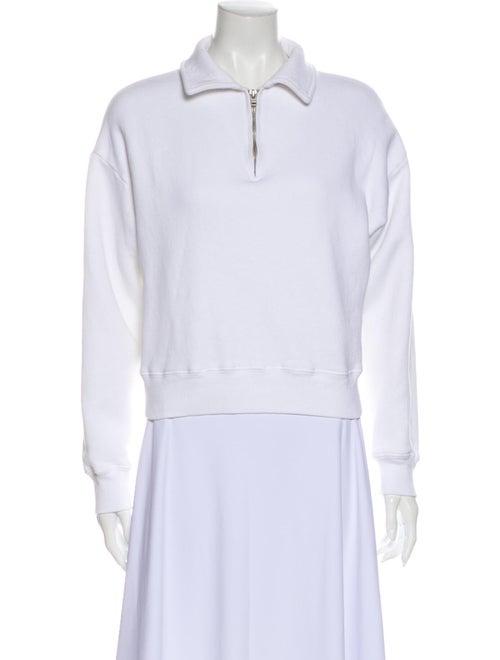 Re/done Long Sleeve Sweatshirt White