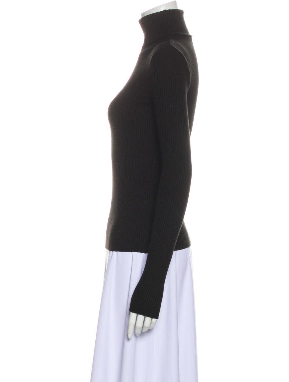 Re/done Turtleneck Sweater Black - image 2