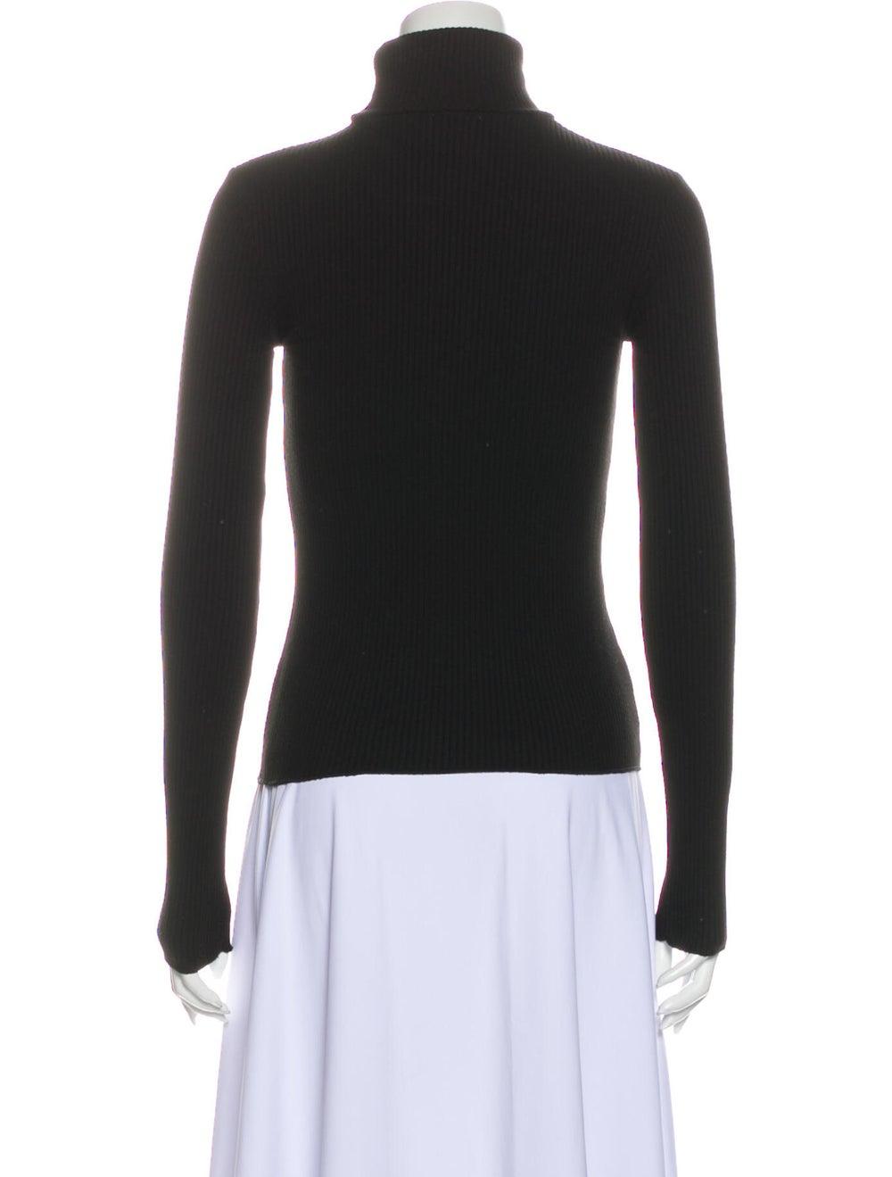Re/done Turtleneck Sweater Black - image 3