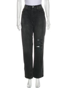 RE/DONE High-Rise Straight Leg Jeans w/ Tags