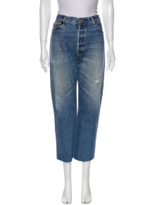 RE/DONE High-Rise Wide Leg Jeans