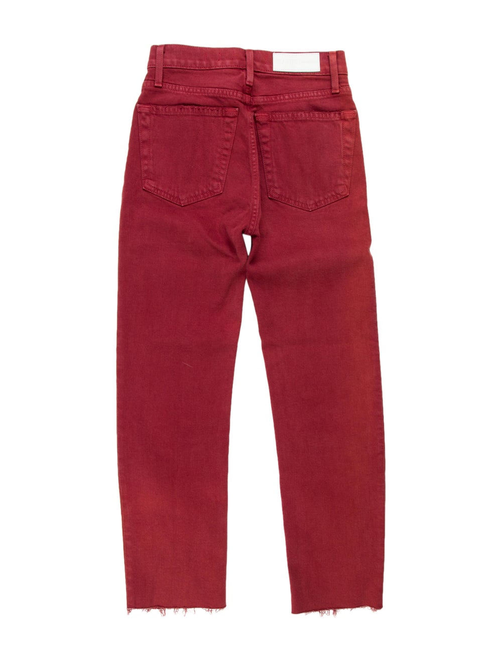 Re/done Mid-Rise Straight Leg Jeans - image 2