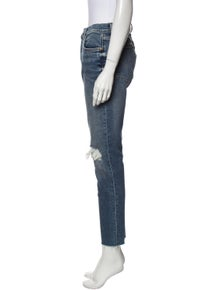 RE/DONE High-Rise Skinny Leg Jeans