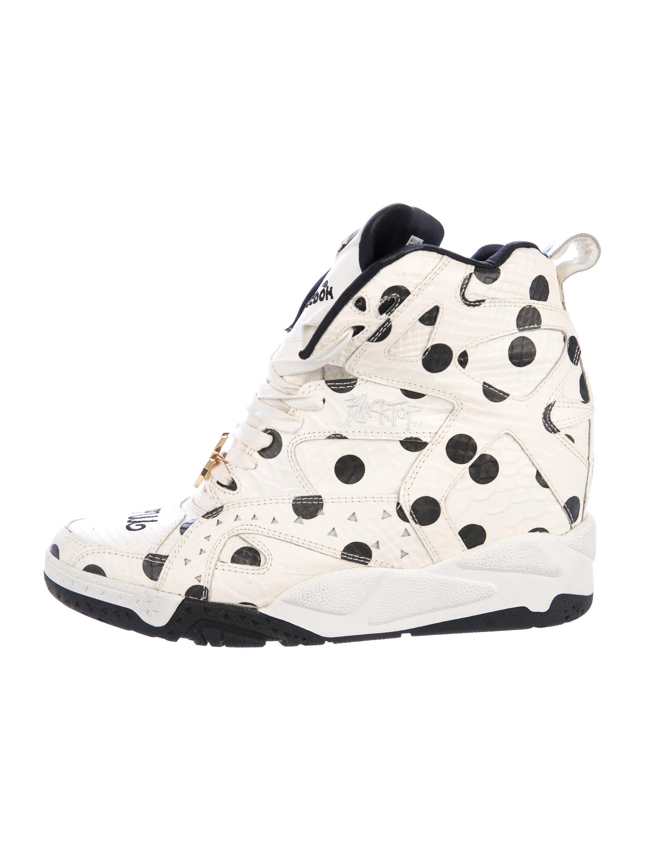 62872b07646e Reebok x Melody Ehsani Blacktop Pump Wedge Sneakers - Shoes ...