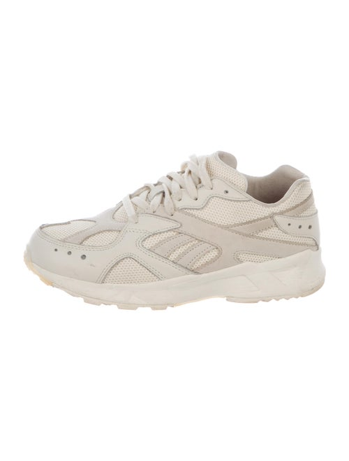 Reebok Leather Chunky Sneakers White