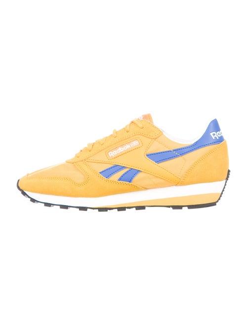 Reebok Colorblock Pattern Athletic Sneakers Yellow