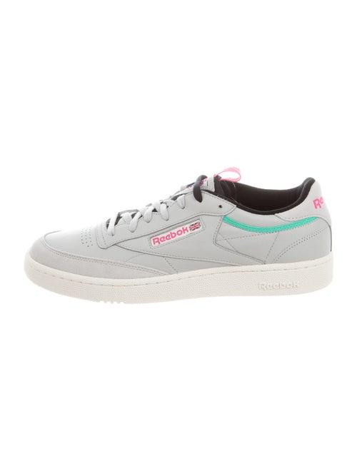 Reebok Leather Printed Sneakers w/ Tags Grey