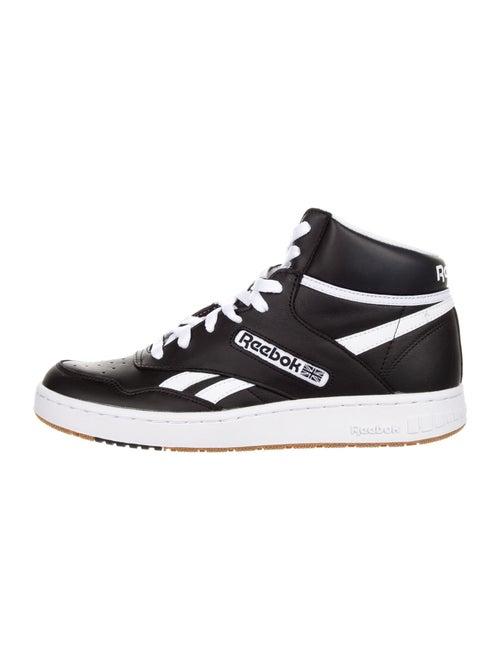 Reebok Leather Athletic Sneakers Black