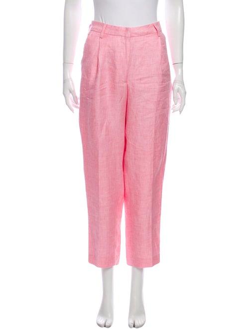 Remain Birger Christensen Linen Straight Leg Pants