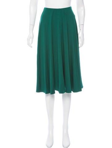 reformation knee length circle skirt clothing