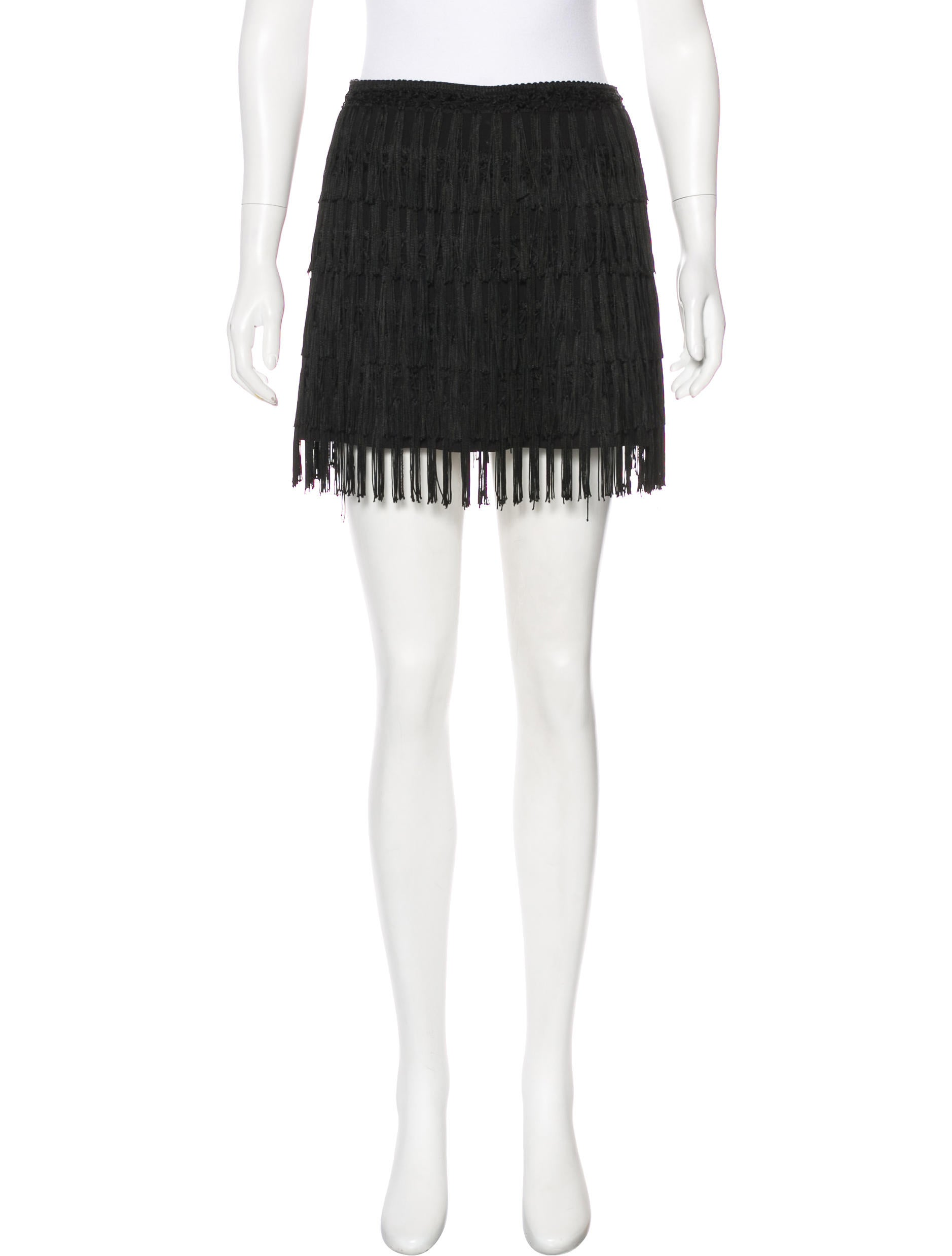 Reformation Fringe Mini Skirt Popular Online How Much Cheap Price Outlet Shop For T3XpuWW6r