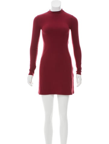 Reformation Long Sleeve Mini Dress None