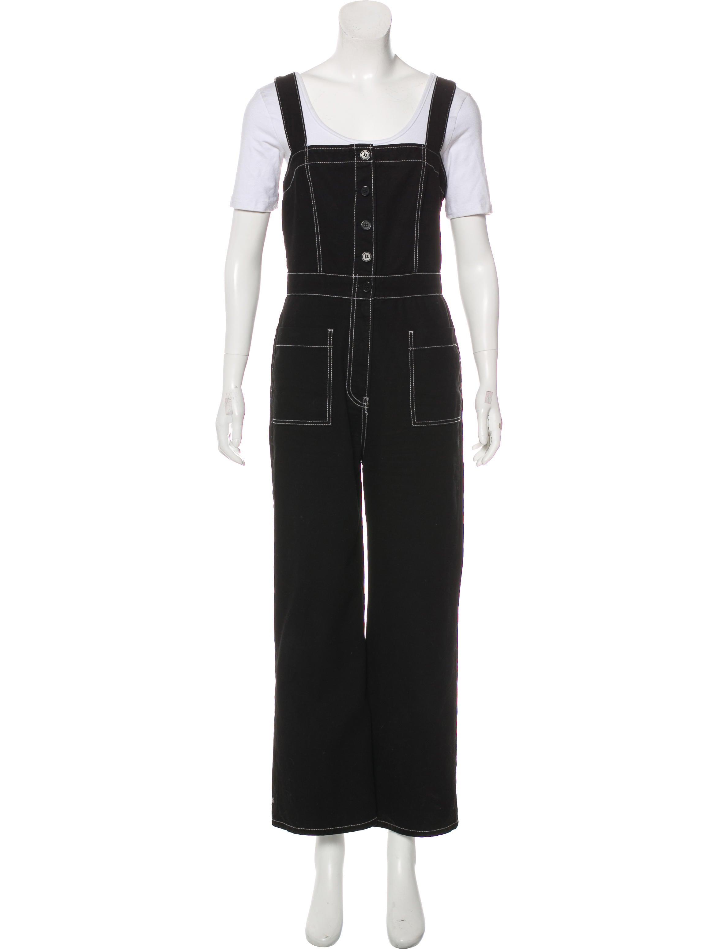 2e567ec7fa2 Reformation Amory Wide-Leg Jumpsuit - Clothing - WRFMN26979