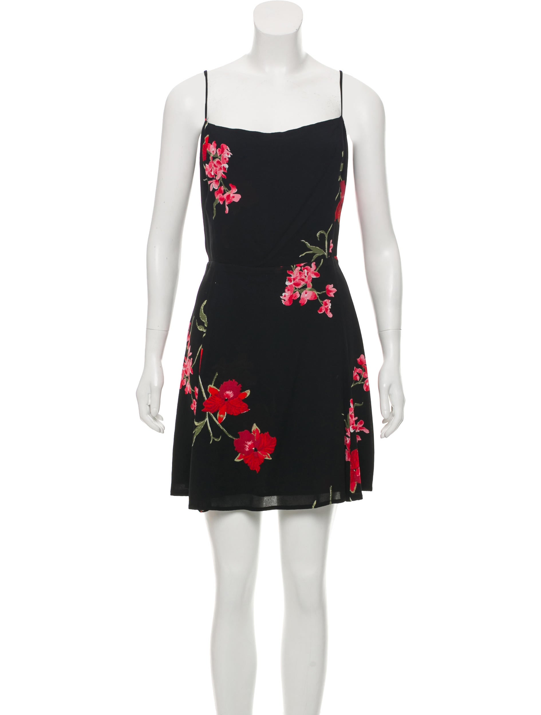 Floral Mini Dress by Reformation