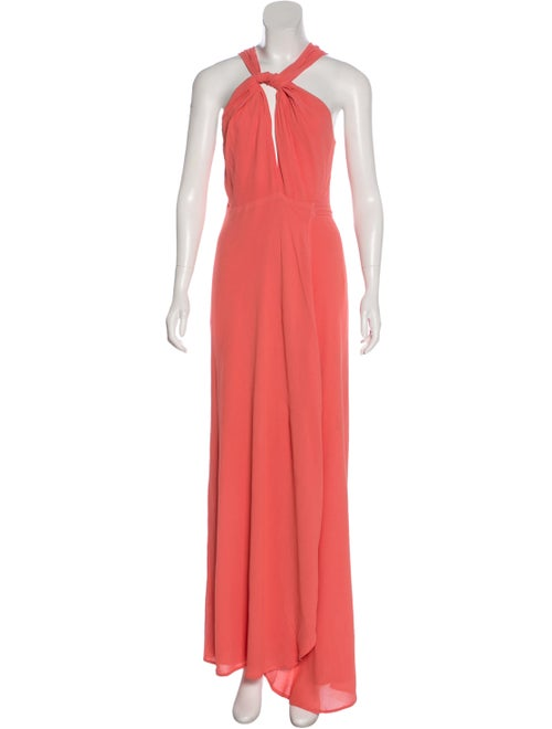 Reformation Sleeveless Maxi Dress Pink