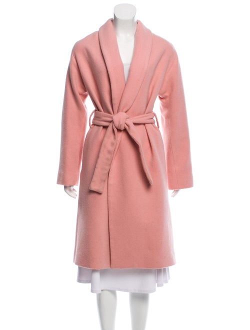 Reformation Trench Coat Pink